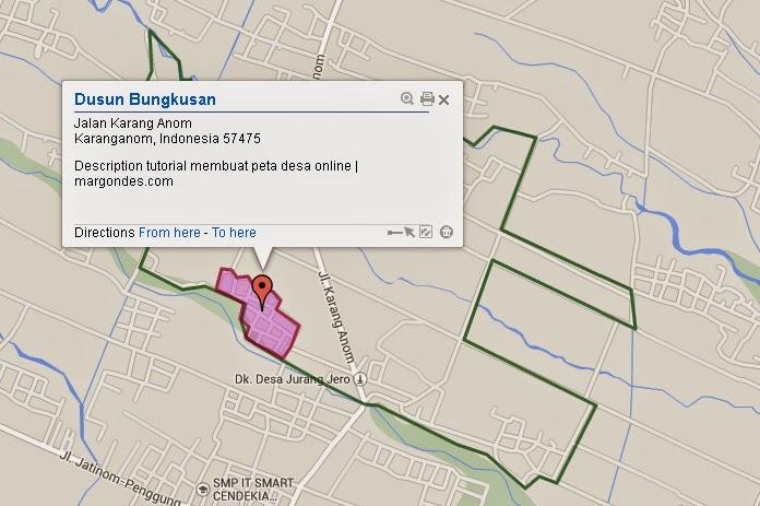 tutorial membuat peta desa online | margondes.com